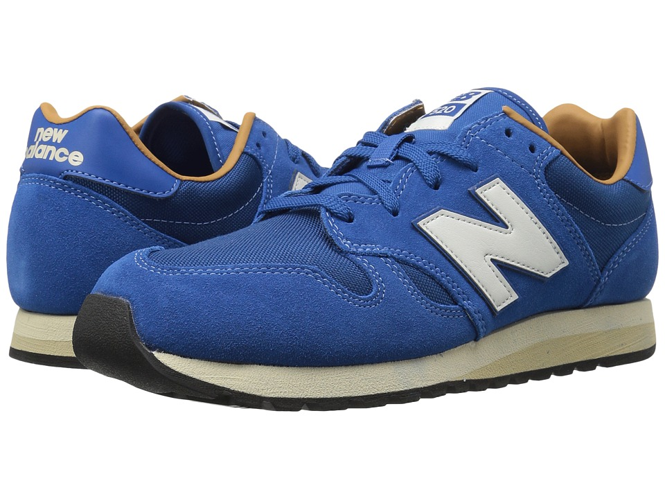 Mens Vintage Style Shoes| Retro Classic Shoes New Balance Classics - U520v1 Classic BlueBrown Sugar Classic Shoes $79.95 AT vintagedancer.com