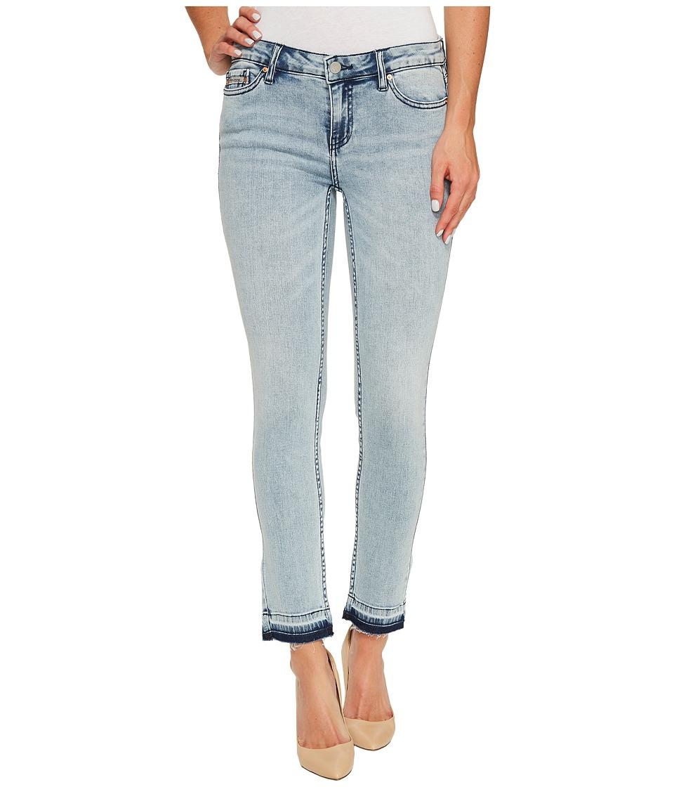 Calvin Klein Jeans Ankle Skinny Jeans in Isla Blue Destruct Wash (Isla Blue Destruct) Women