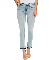 Calvin Klein Jeans - Ankle Skinny Jeans in Isla Blue Destruct Wash