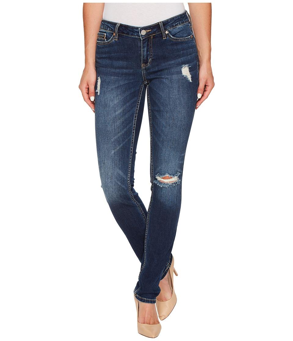 Calvin Klein Jeans Ultimate Skinny Jeans in Shield Blue Wash (Shield Blue) Women