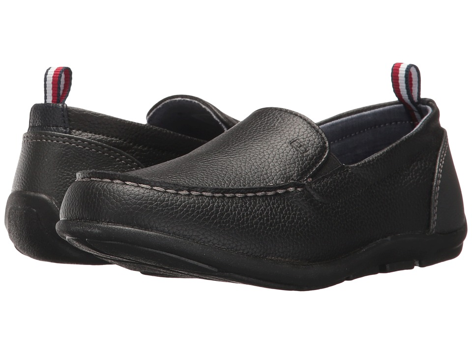 Tommy Hilfiger Kids - Dathem Loafer (Little Kid/Big Kid) (Black) Boys Shoes
