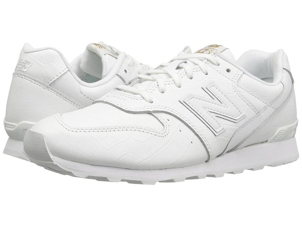 New Balance Classics WL696v1 (White/White) Women's Running Shoes