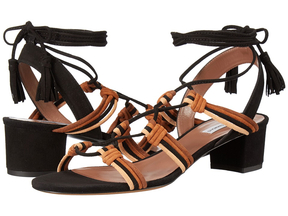 Tabitha Simmons Mendi (Multi Brown/Black Kid Suede) Women