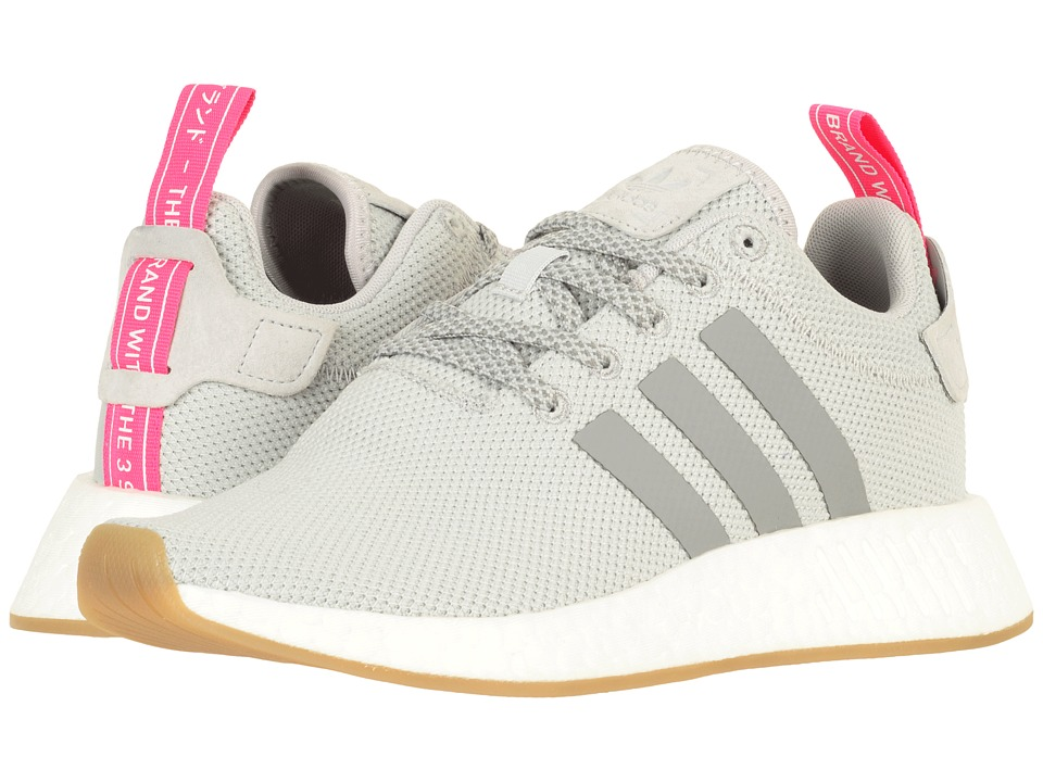 Adidas Originals - NMD_R2 (Grey Two/Grey Three/Shock Pink) Women's  Shoes