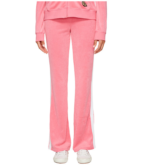 Juicy Couture Venice Beach Patches Microterry Del Rey Pants