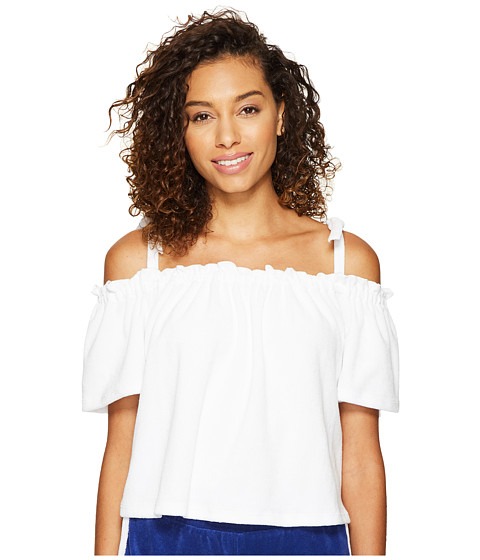 Juicy Couture Venice Beach Microterry Off the Shoulder Top