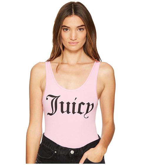 Juicy Couture Juicy Graphic Scoop Neck Bodysuit