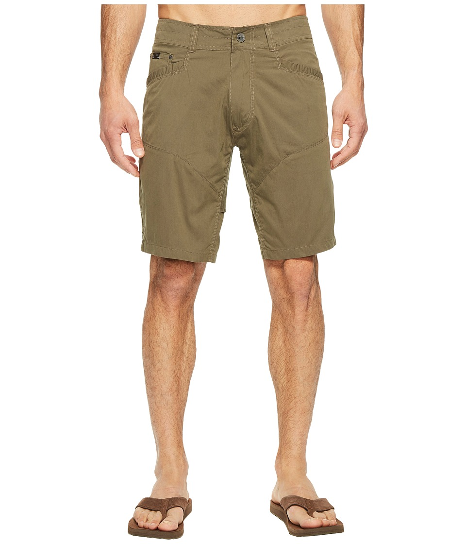 KUHL Kontra Air Shorts 10 (Dark Moss) Men