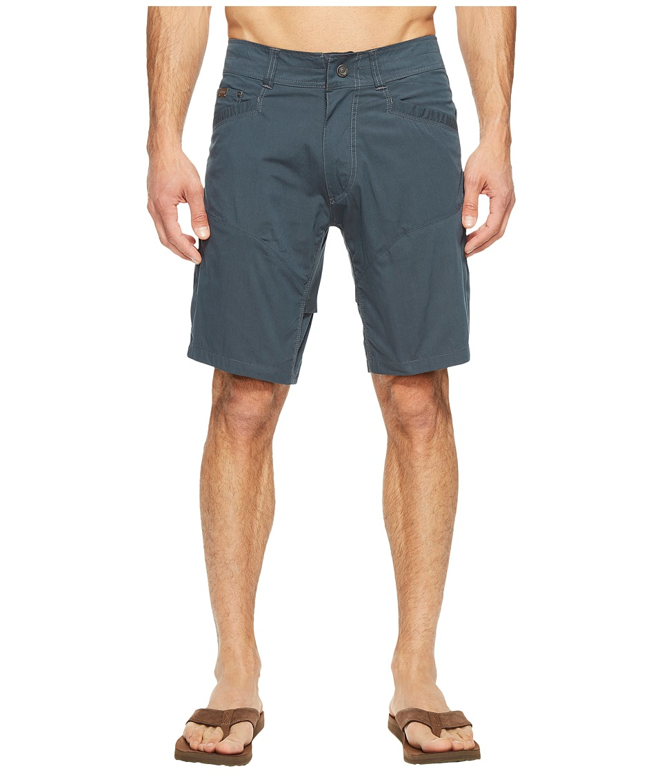 KUHL Kontra Air Shorts 10 (Deep River Blue) Men