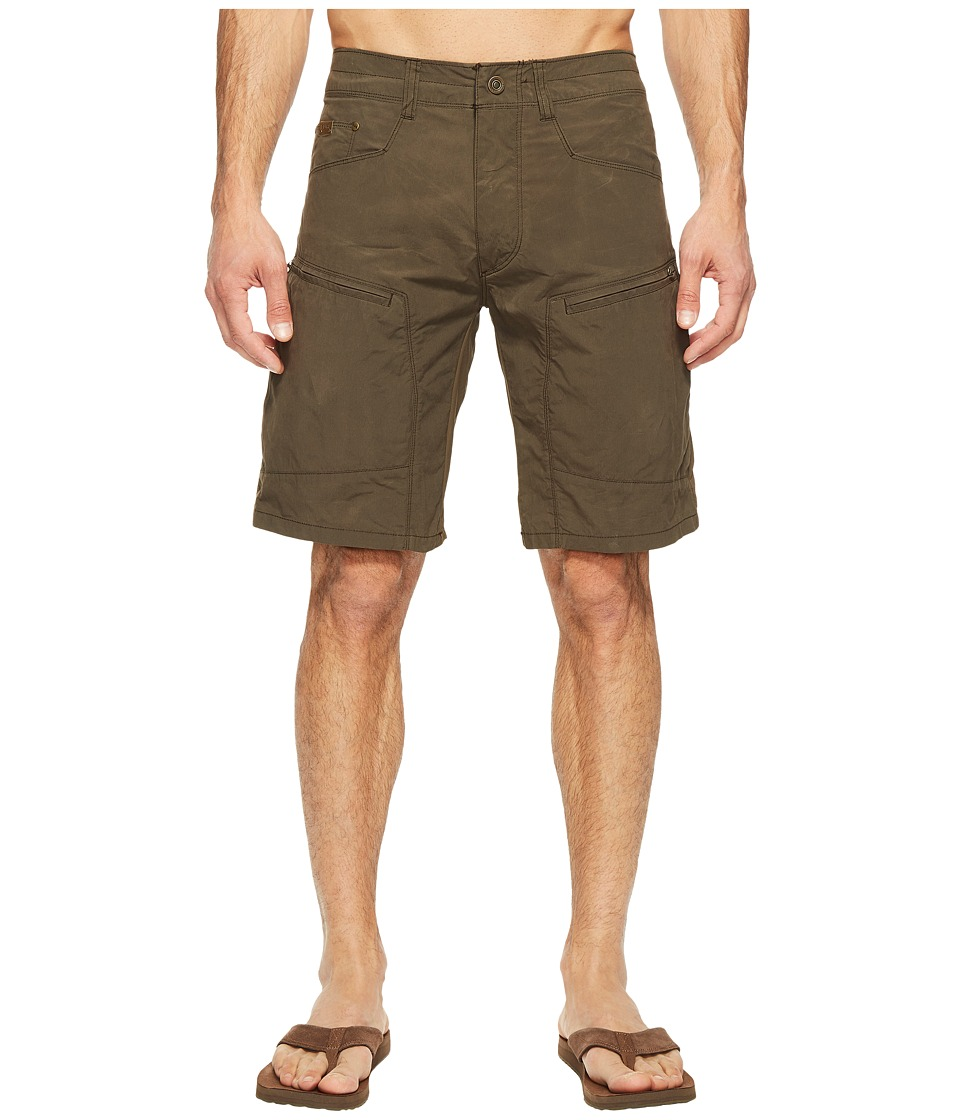 KUHL Outsider Cargo Shorts 10 (Dark Roast) Men