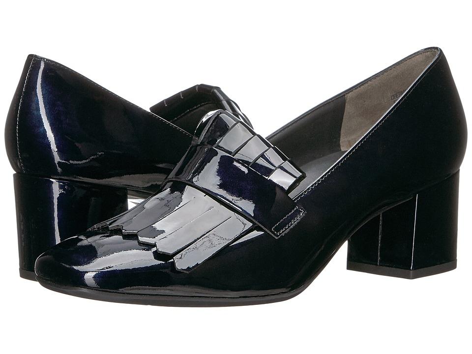 Paul Green Ness Kilty (Steel Blue Patent) Women