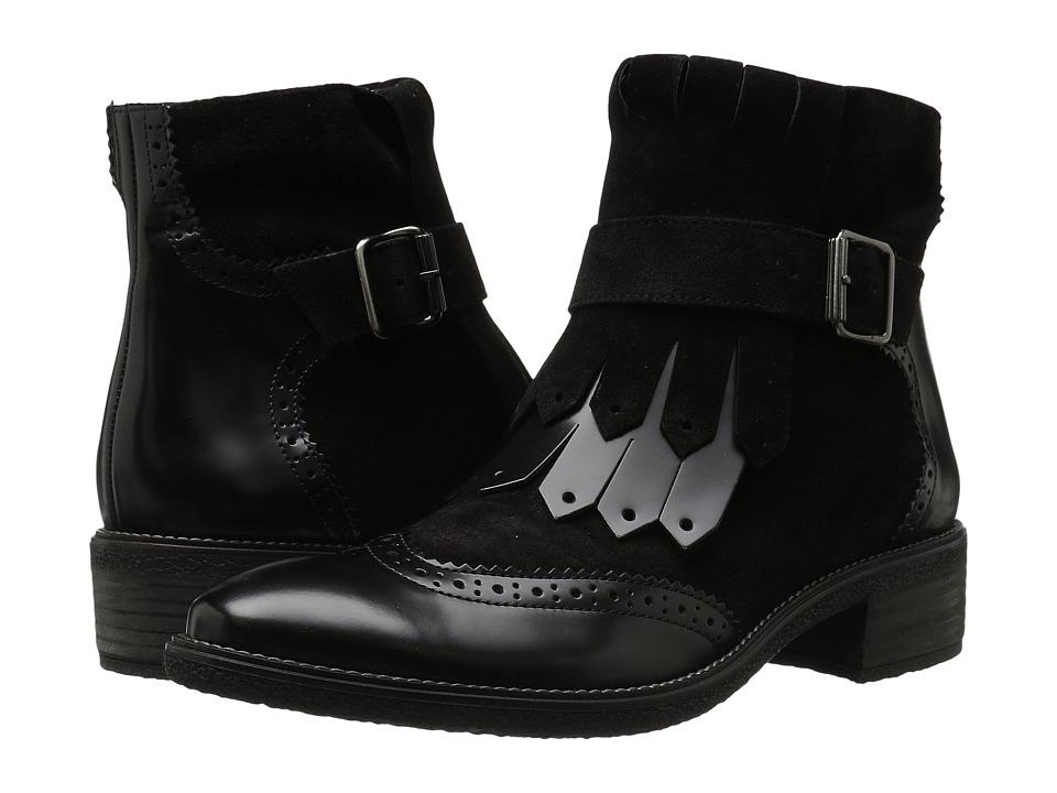 Paul Green Miller Boot (Black Combo) Women