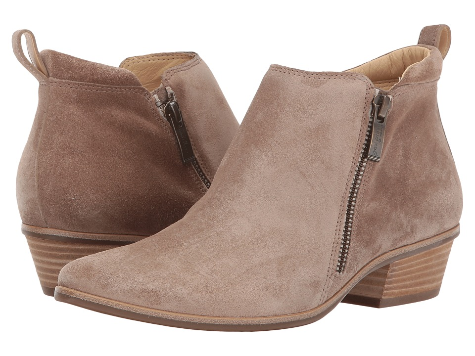 Paul Green Jillian Bootie (Antelope Suede) Women