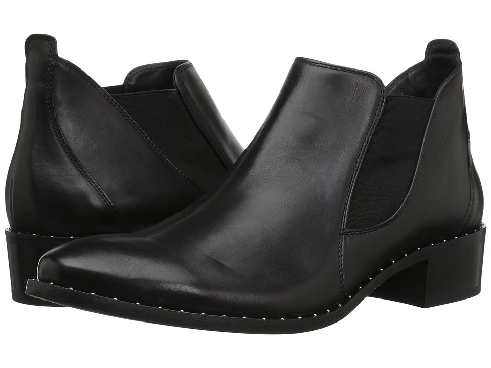 Paul Green Nate (Black Leather) Women