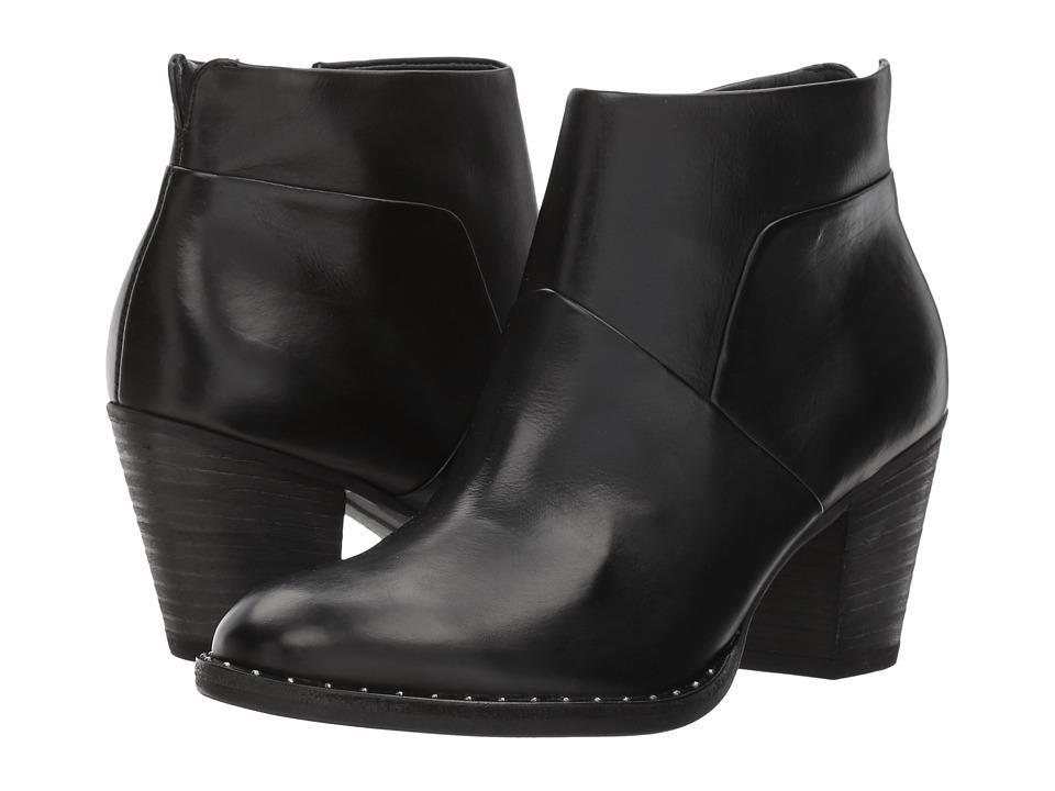 Paul Green Nice Bootie (Black Leather) Women