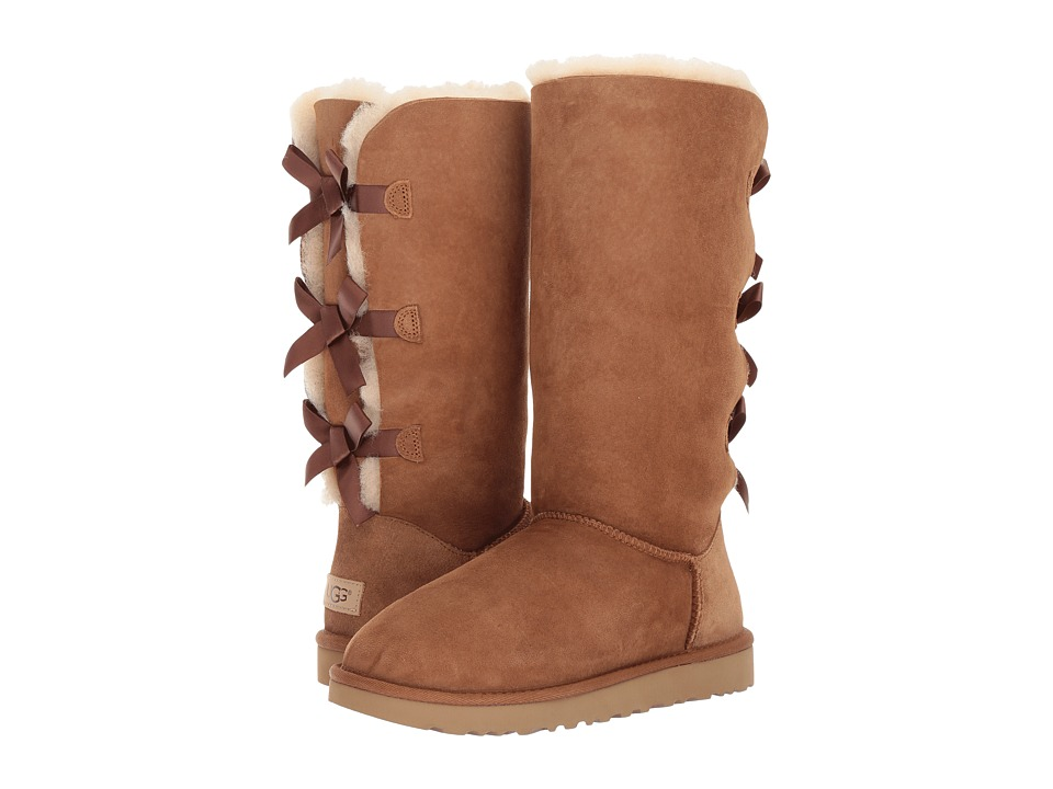 Ugg Bailey Bow Tall II (Chestnut) Women's Boots