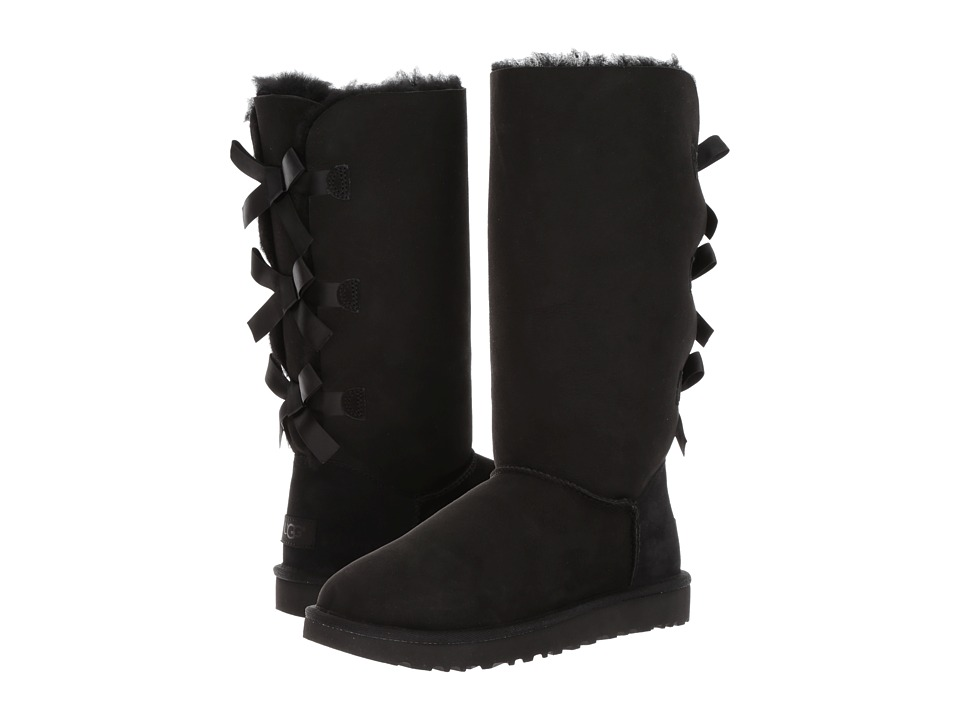 Ugg Bailey Bow Tall II (Black) Women's Boots