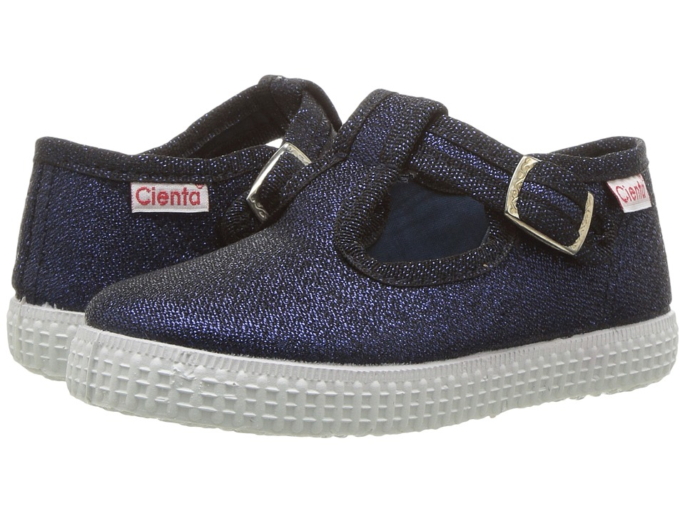 Cienta Kids Shoes - 51013 (Infant/Toddler/Little Kid/Big Kid) (Navy) Girls Shoes