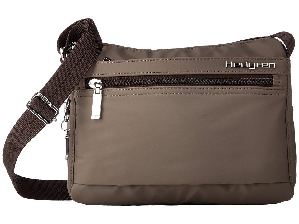 Hedgren - Eye Shoulder Bag w/ RFID (Sepia) Bags