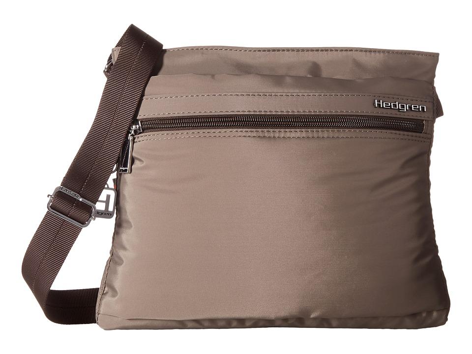 Hedgren - Fola Crossbody w/ RFID (Sepia) Bags