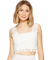 Nicole Miller - Alexa Crochet Lace Crop Top