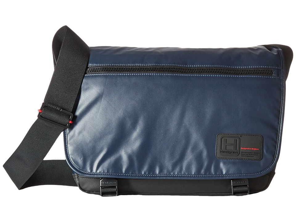 Hedgren Motto Large Messenger Bag (Blue Night) Messenger Bags