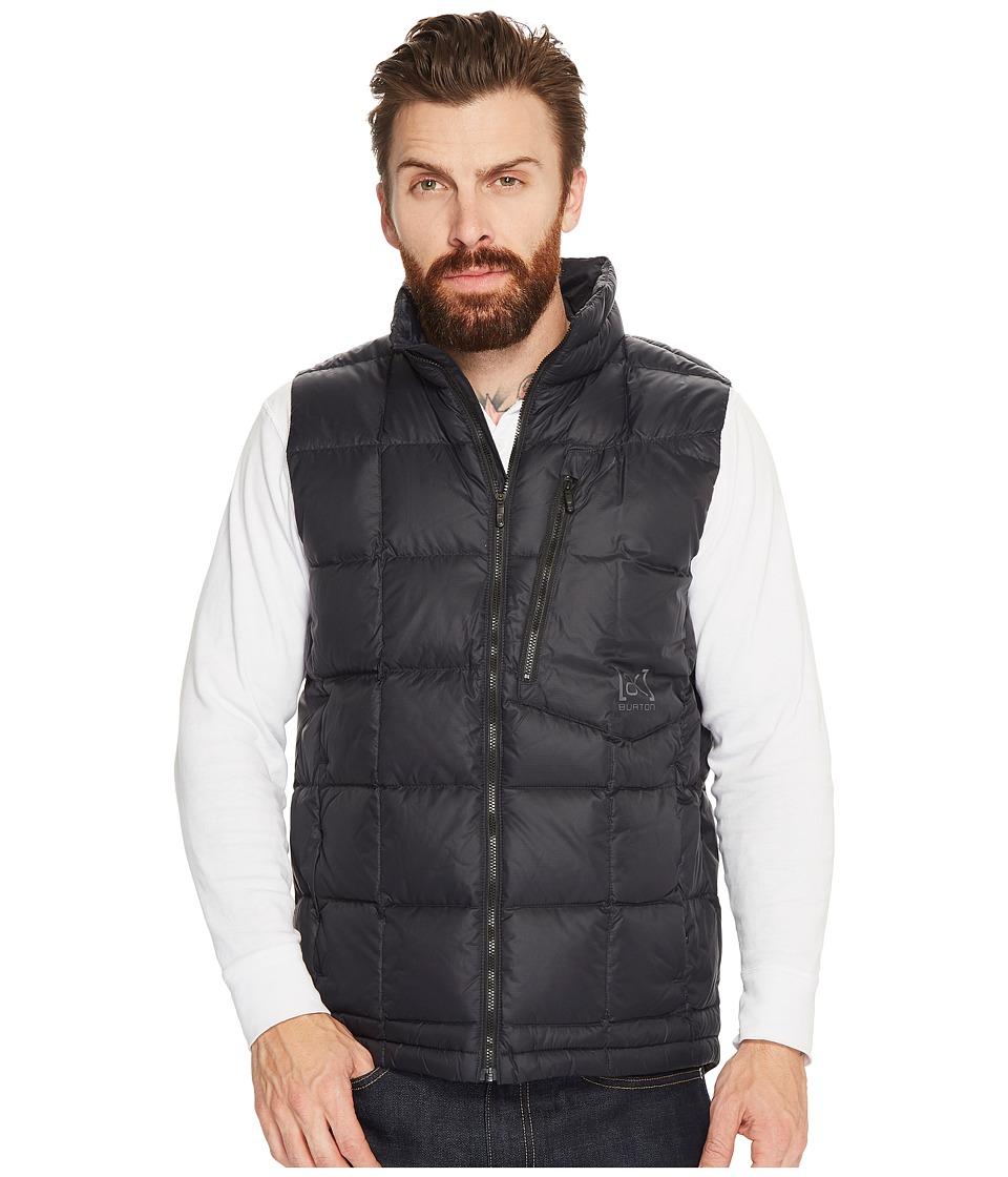 Burton AK] BK Insulator Vest (True Black) Men's Vest