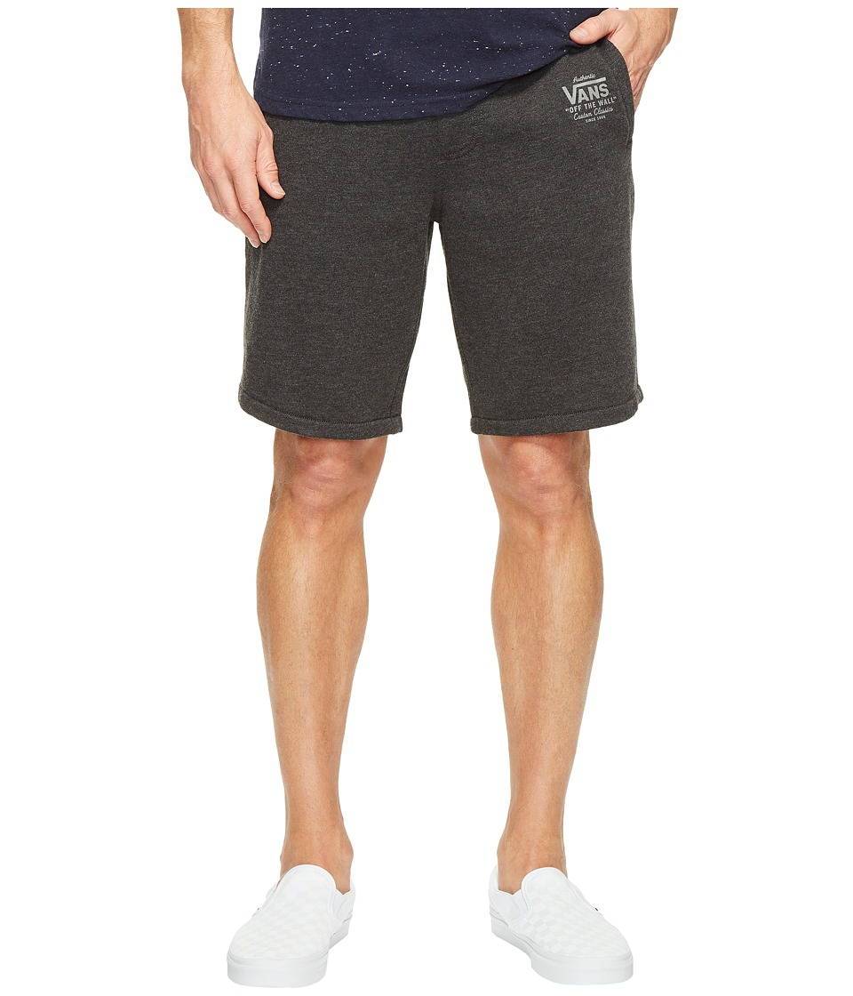 Vans Holder Fleece Shorts (Black Heather) Men
