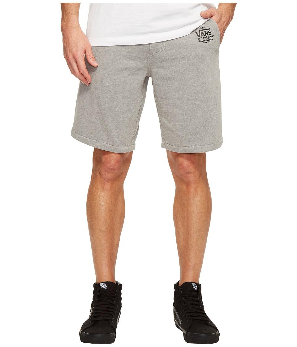 Vans Holder Fleece Shorts (Cement Heather) Men