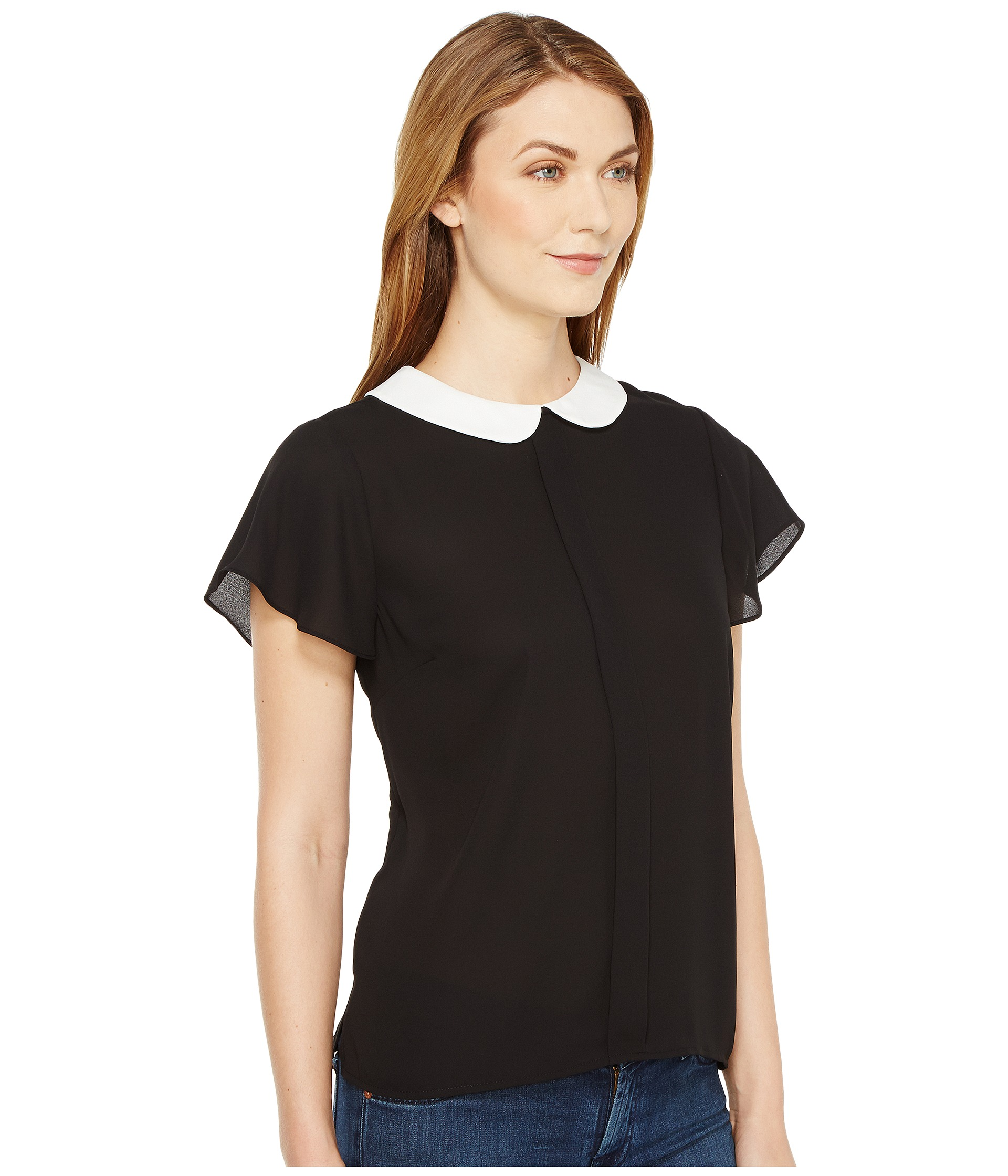 Stylish Women's Short-Sleeved T-Shirts and Tops Maximise your style choices with our range of beautiful short-sleeved women's tops. Whether you are looking for simple separates for the office of structured tops and graphic prints, we have options for all occasions.