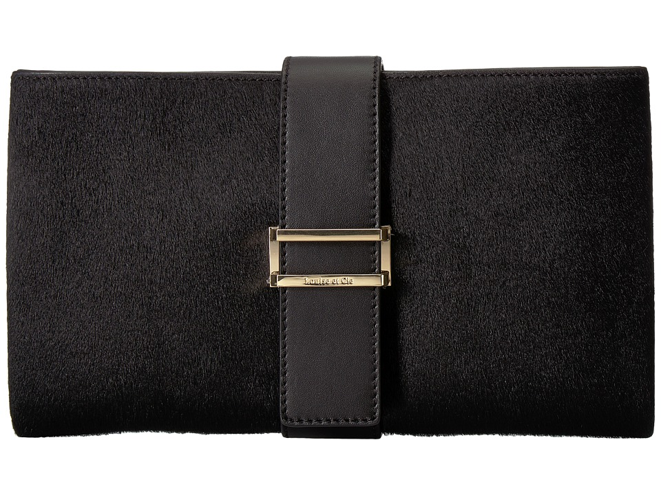 Louise et Cie Sade Clutch (Black) Clutch Handbags