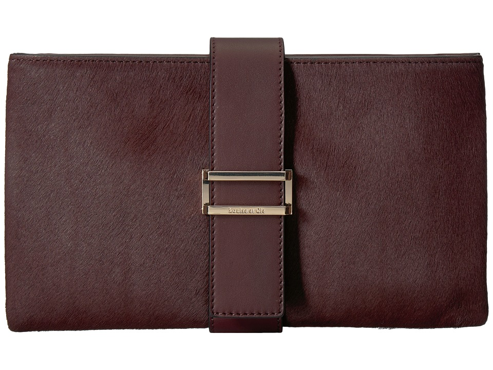 Louise et Cie Sade Clutch (Oxblood) Clutch Handbags