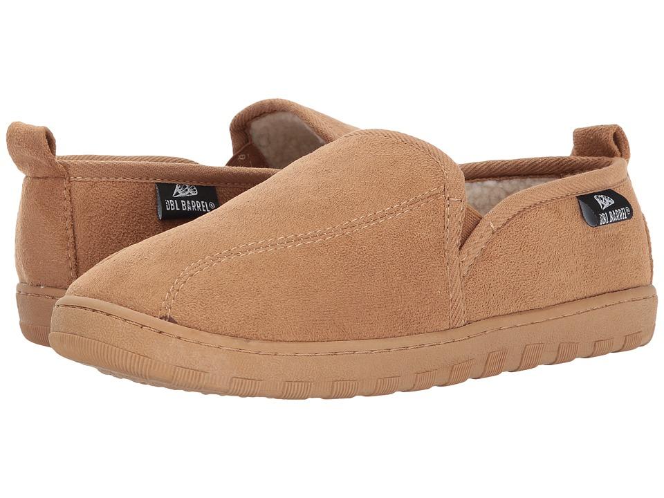 M&F Western Fleece Slip-On Slippers (Tan) Men