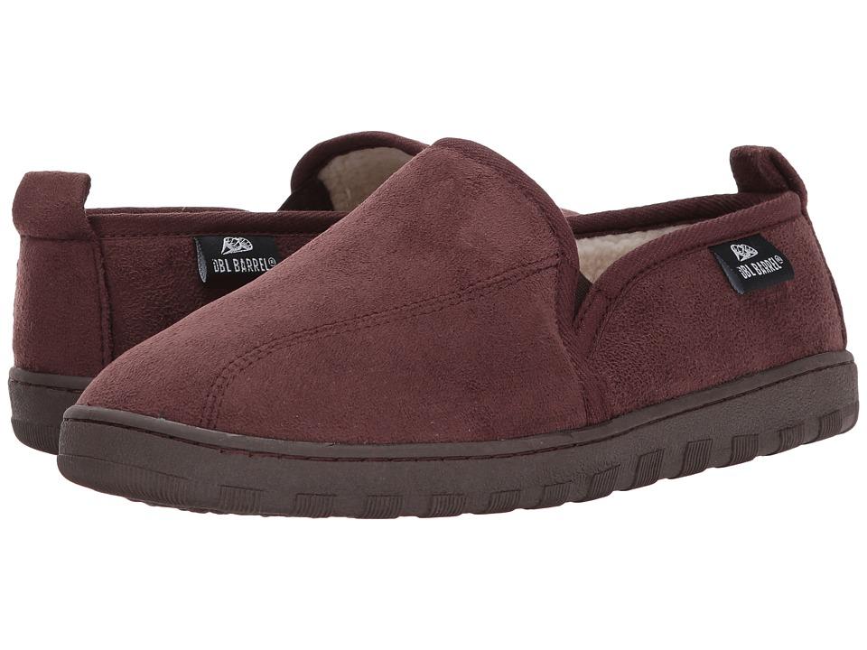 M&F Western Fleece Slip-On Slippers (Chocolate) Men