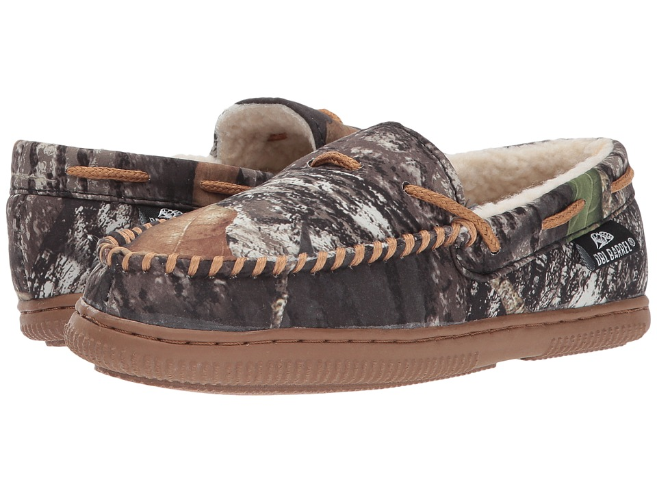 Blazin Roxx Moccasin Slippers (Toddler/Little Kid/Big Kid) (Mossy Oak Camo/Tan) Boys Shoes