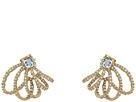 Crystal Lace Orbiting Post Earrings