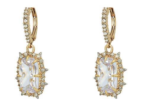 Alexis Bittar Crystal Drop Earrings - 10k Gold w/ Rhodium