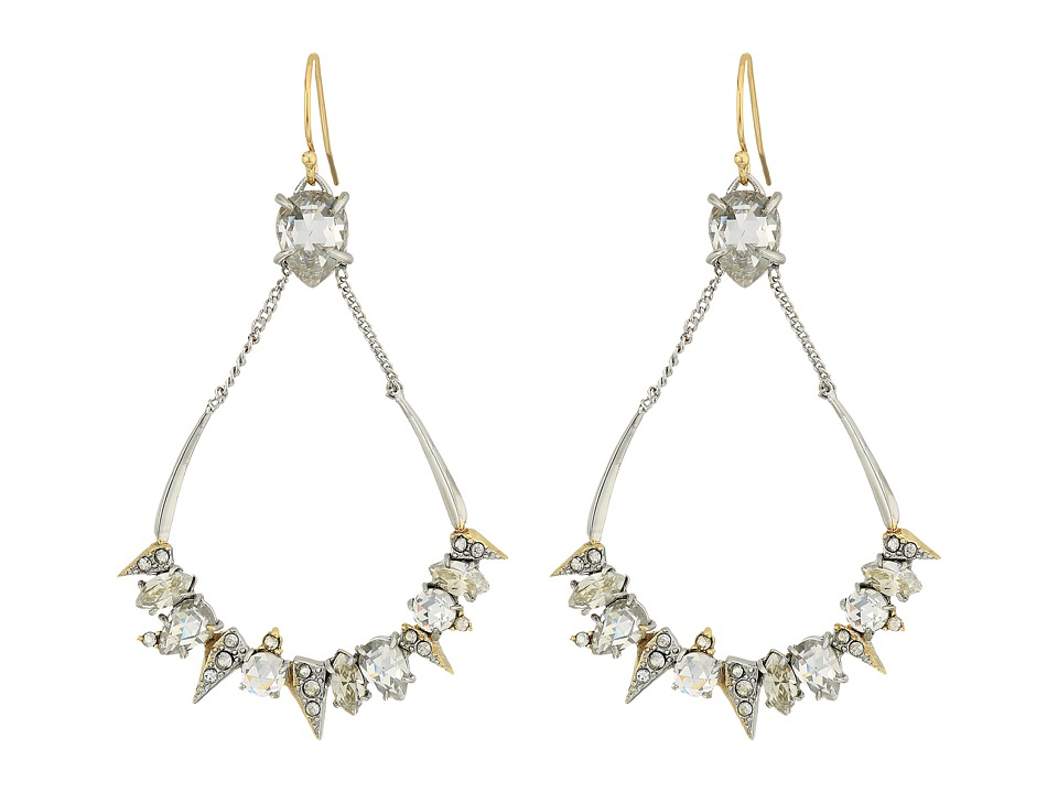 Alexis Bittar - Crystal Encrusted Mosaic Futuristic Tear Earrings