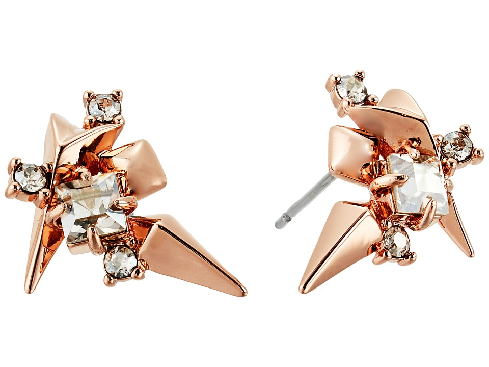 Alexis Bittar - Golden Studded Post Earrings
