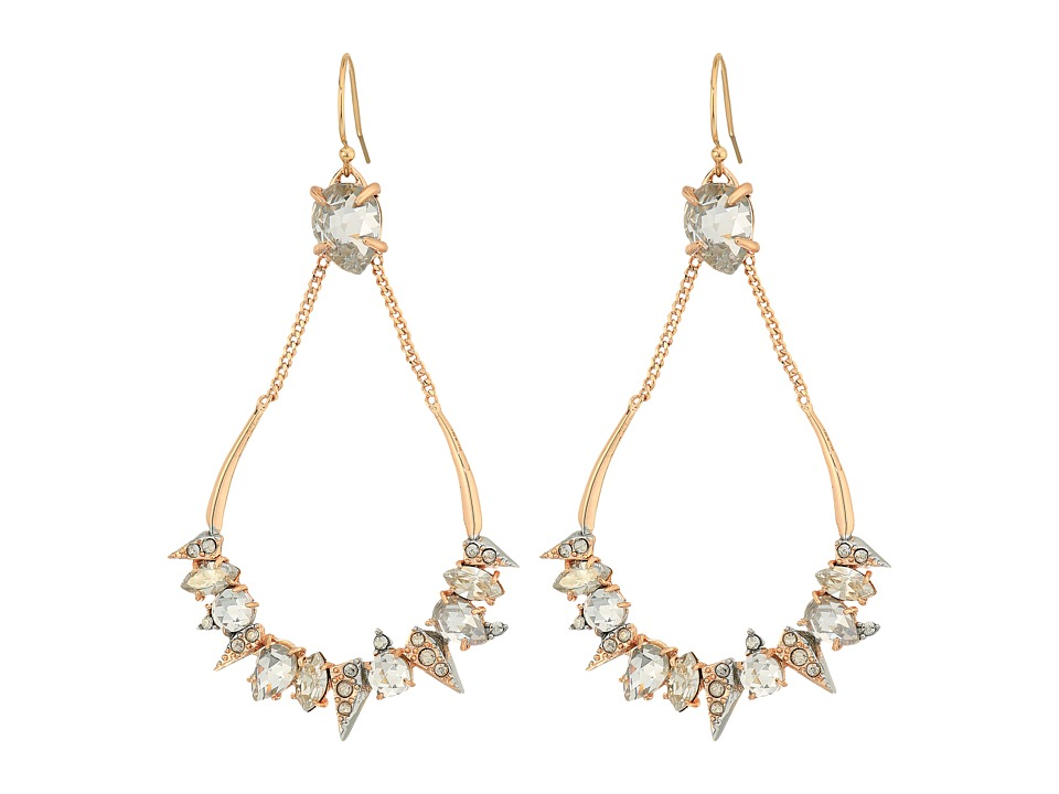 Alexis Bittar Alexis Bittar - Crystal Encrusted Mosaic Futuristic Tear Earrings