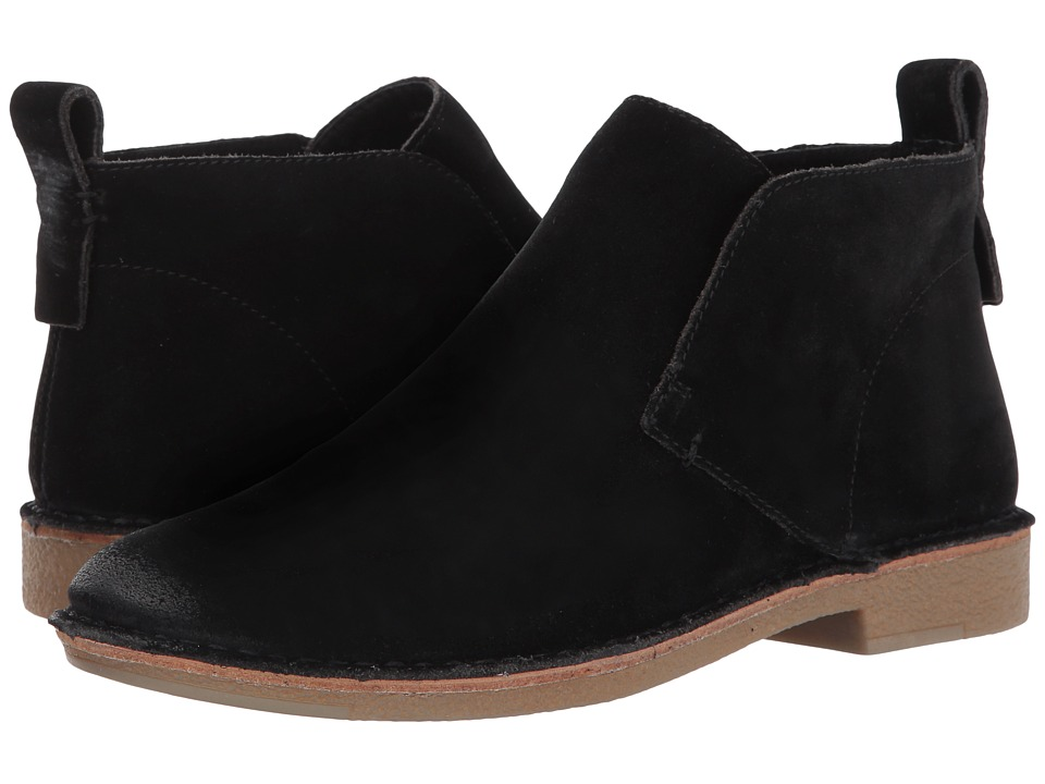 Dolce Vita - Findley (Black Suede) Womens Slip on  Shoes