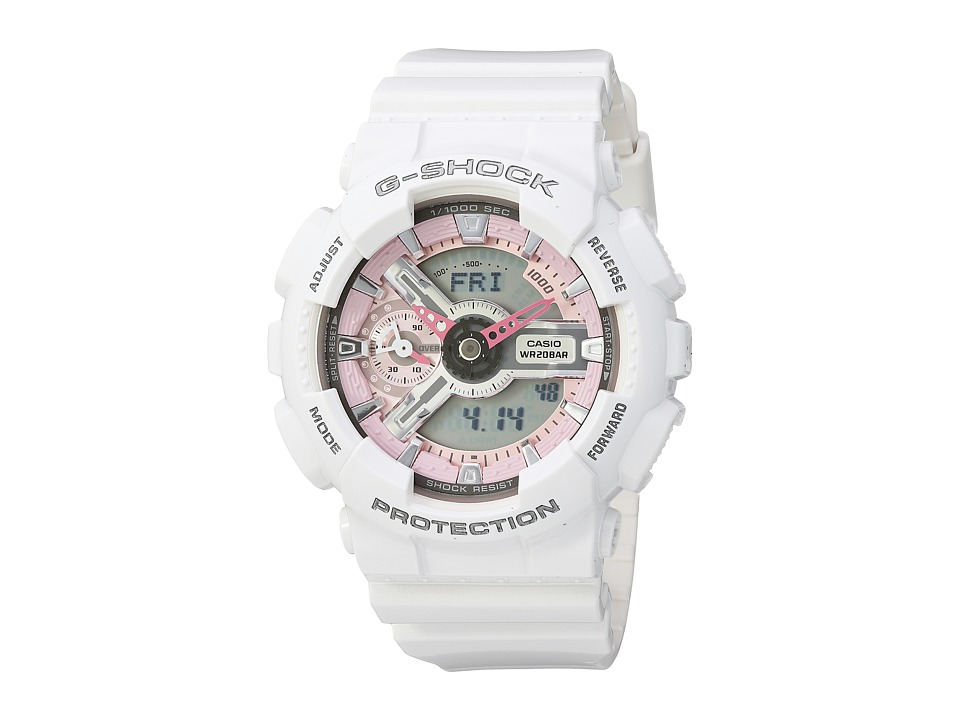 Casio GMA-S110MP-7ACR (White) Sport Watches