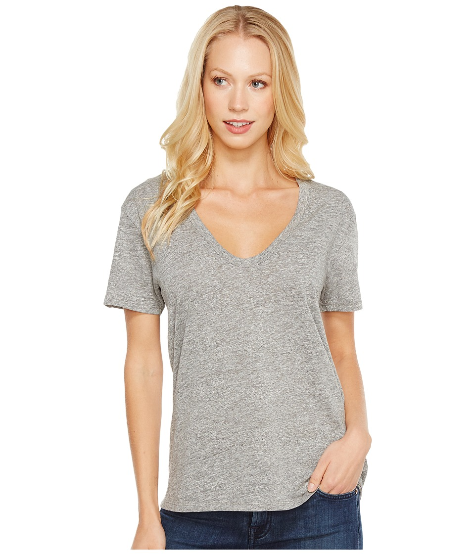 AG Adriano Goldschmied - Henson T-Shirt (Speckled Heather Grey) Womens T Shirt