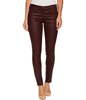 AG Adriano Goldschmied - The Leggings Ankle in Leatherette Light Deep Currant
