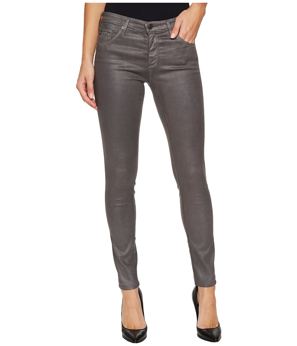 AG Adriano Goldschmied - The Leggings Ankle in Leatherette Light Field Stone