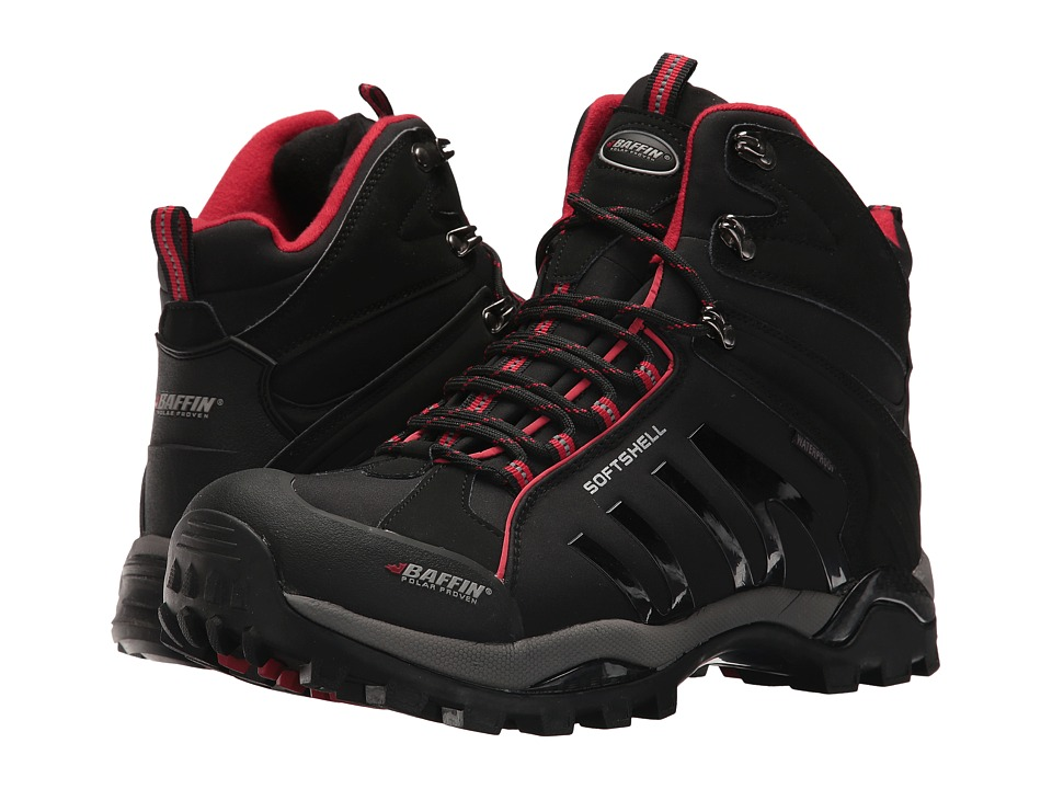 Baffin Zone (Black/Red) Men
