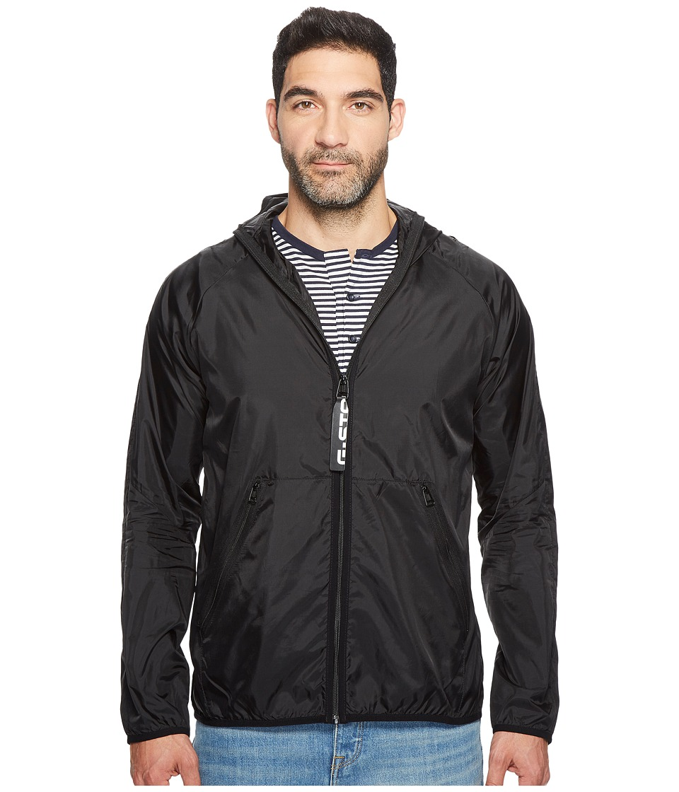 G-Star Strett Hood Gymbag Jacket (Dark Black) Men