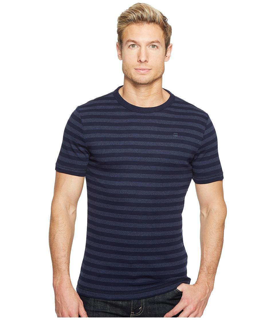 G-Star - Kantano Slim R T Short Sleeve Cool Rib Small Premere Stripe