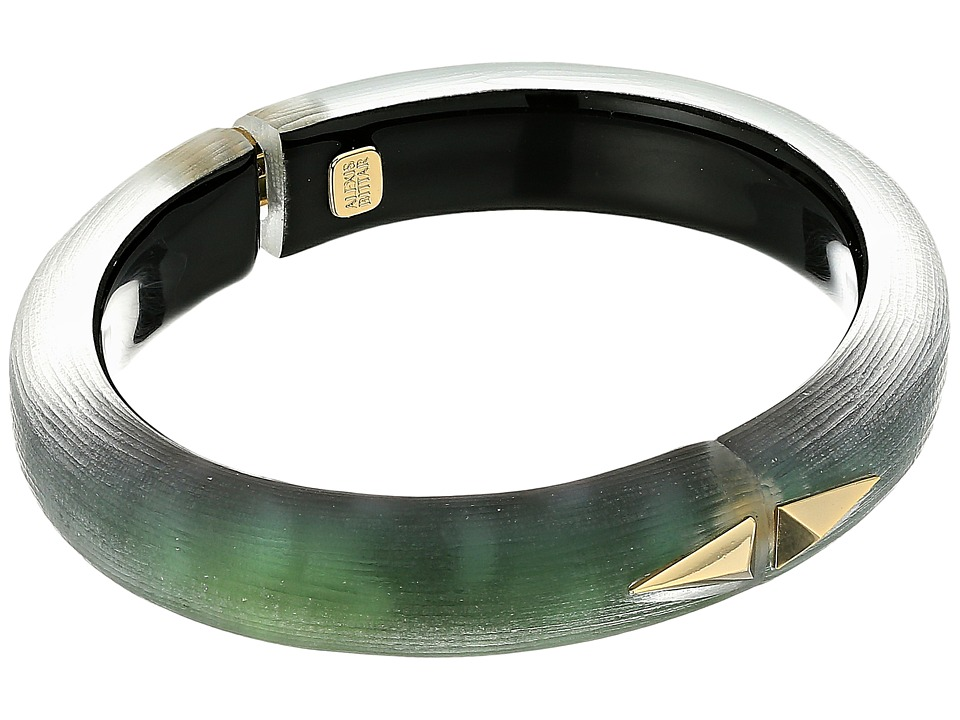 Alexis Bittar - Golden Studded Hinge Bracelet
