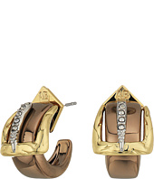Alexis Bittar - Small Buckle Hoop Earrings